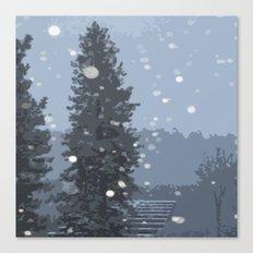 Arrowhead Blizzard Canvas Print