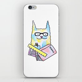 Nerd Cat  iPhone Skin