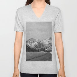 Big Cottonwood Canyon Unisex V-Neck