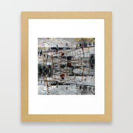 The truth will hit some bodies harder than others. [B] Framed Art Print