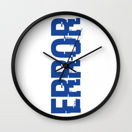 ERROR Wall Clock