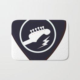 Guitar Pick Bath Mat