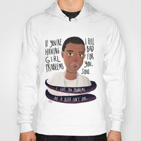 jay z Hoodies featuring JAY-Z 99 PROBZ by Sharin Yofitasari