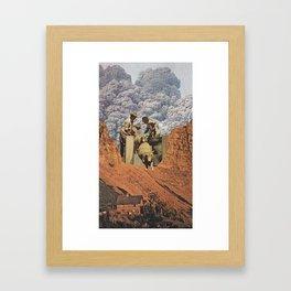 Dirty Sheep Framed Art Print