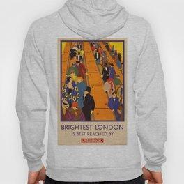 Vintage poster - Brightest London Hoody