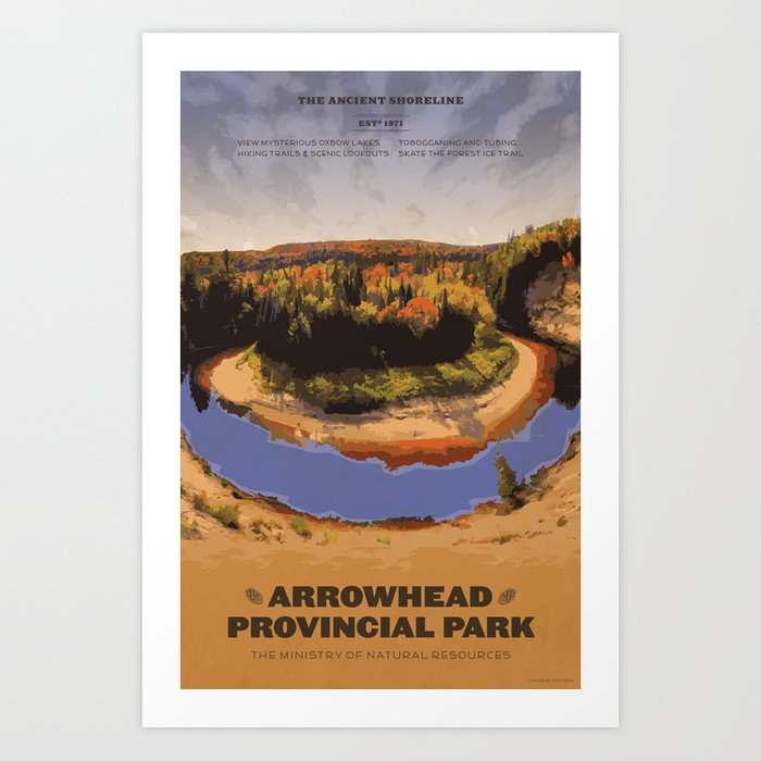Arrowhead Provincial Park Kunstdrucke