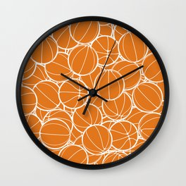 Hoop Dreams Wall Clock