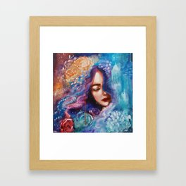 The Universe Owes Us Nothing Framed Art Print
