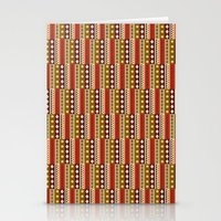 africa Stationery Cards featuring Africa by Okopipi Design