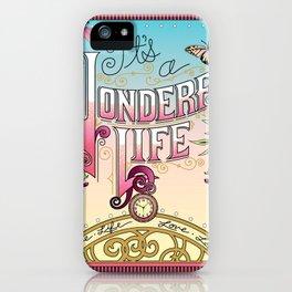 It's A Wonderful Life iPhone Case