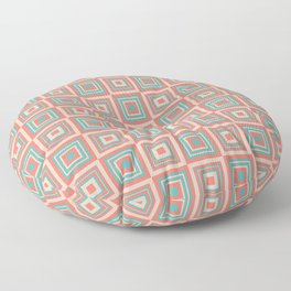 Funky Coral Floor Pillow