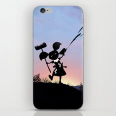 Harley Kid iPhone & iPod Skin