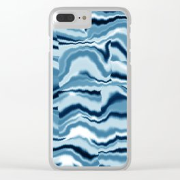 Abstract 139 Clear iPhone Case