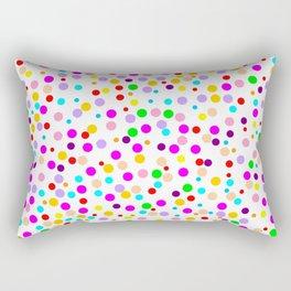 Colorful Rain 15 Rectangular Pillow