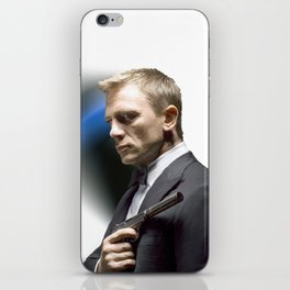 Daniel Craig as James Bond iPhone Skin