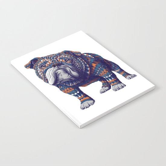 English Bulldog (Color Version) Notebook