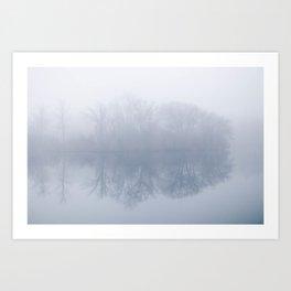 Foggy days Art Print