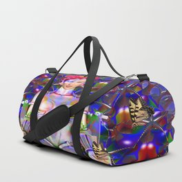 Robot Butterfly Duffle Bag