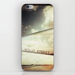 your street iPhone Skin