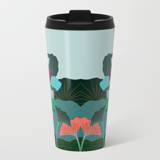 Lotus Magic - 05 Metal Travel Mug