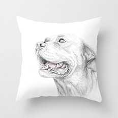 Murphy :: Loyalty [with Quote] Throw Pillow