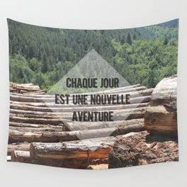 the wood factory II Wall Tapestry