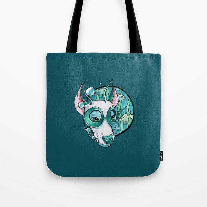 Water dragon Tote Bag