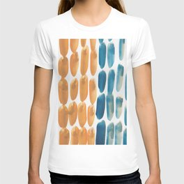 44| 190330 Watercolour Abstract Brush Strokes T-shirt