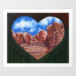 Bluff Utah Art Print