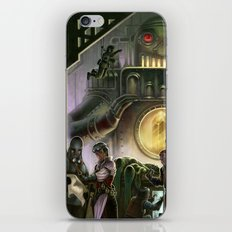 Steam Dungeons and Electric Treasure iPhone & iPod Skin