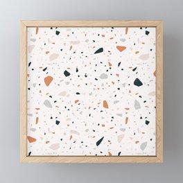 Terrazzo + Copper Framed Mini Art Print