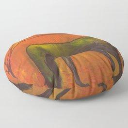 Dark Horse Floor Pillow