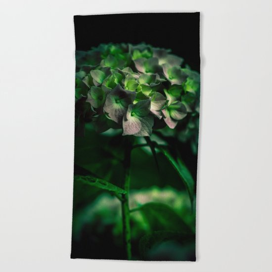 Fiore Verde Beach Towel