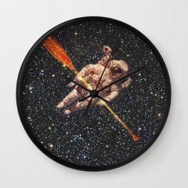 space oarsman Wall Clock