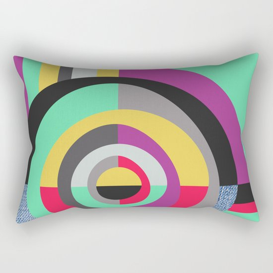 Geometric#19 Rectangular Pillow