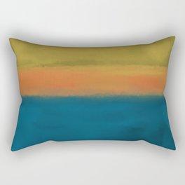 Rothko Inspired #3 Rectangular Pillow