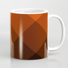 Orange to Black Ombre Signal Coffee Mug