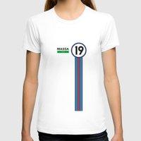 f1 T-shirts featuring F1 2015 - #19 Massa by MS80 Design