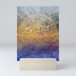 Atlante 11-06-16 / SUBAQUATIC - AERIAL Mini Art Print