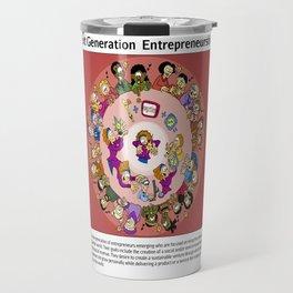 Next Generation  Entrepreneurship Travel Mug