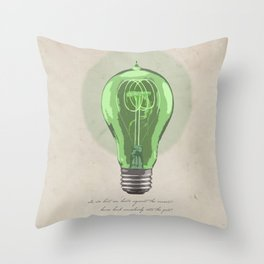 The Green Light Throw Pillow