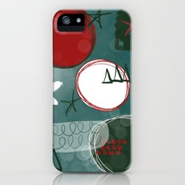 Jingle bells iPhone Case