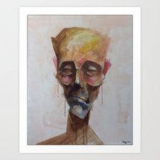 Drowsy Portraits - Unplugged Art Print