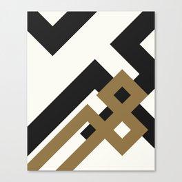 GEOMETRY YAR Canvas Print