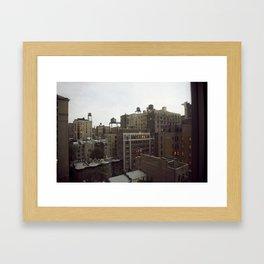 New York City Skyline Framed Art Print