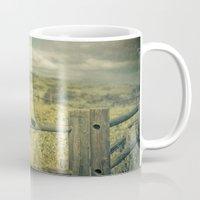 plain Mugs featuring I'm on a plain by Rachel Bellinsky
