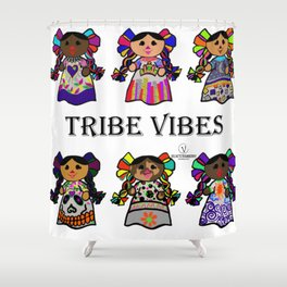 Tribe Vibes Shower Curtain