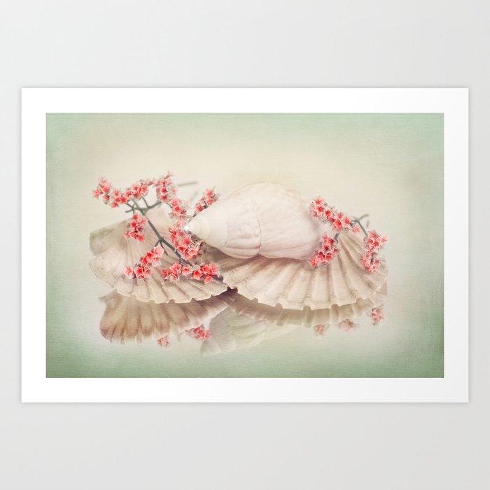 SHELLY DREAM Art Print