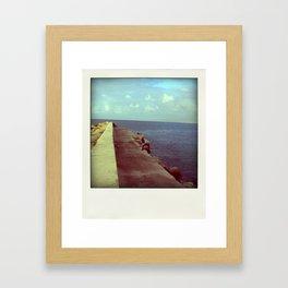 Nowhere quay Framed Art Print