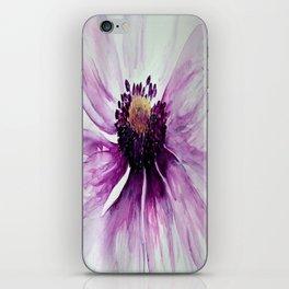 Sweet Anemone of Purple watercolor by CheyAnne Sexton iPhone Skin